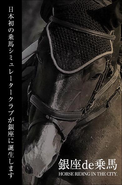 3F シミュレーター乗馬クラブ 乗馬倶楽部銀座